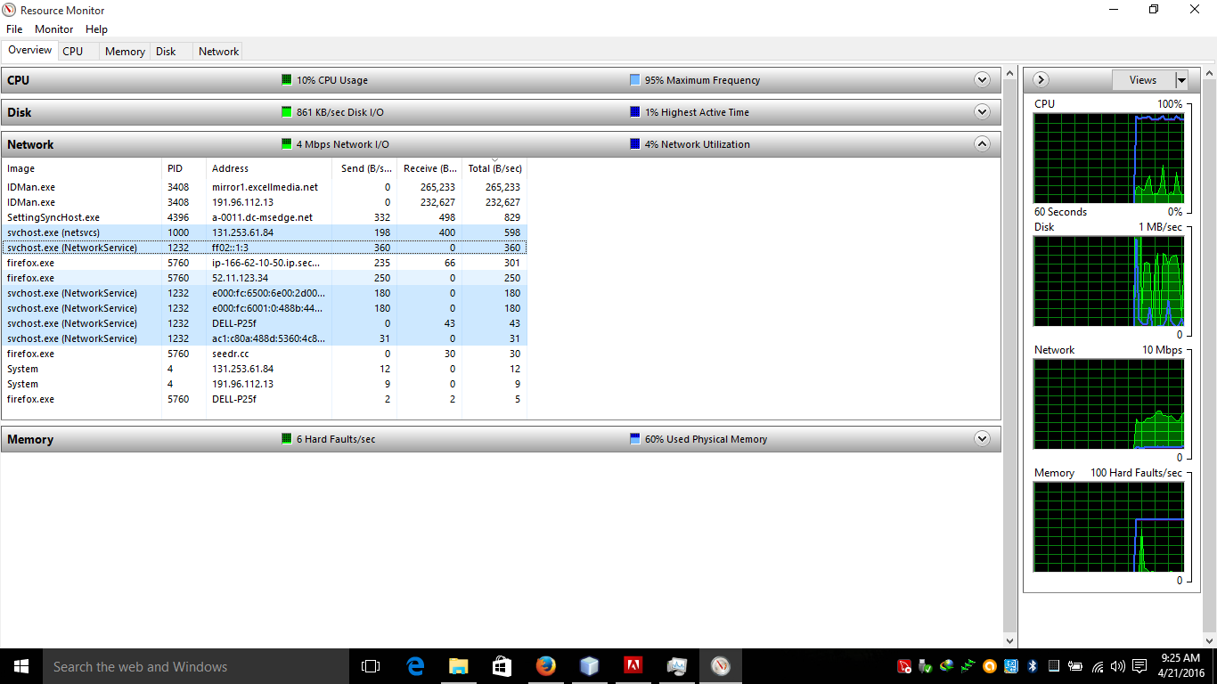 Windows svchost.exe always download in the background problem, Solved
